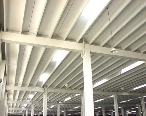 双T板标准化厂房内部效果